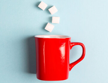 Słodzony napój, zdjęcie ilustracyjne