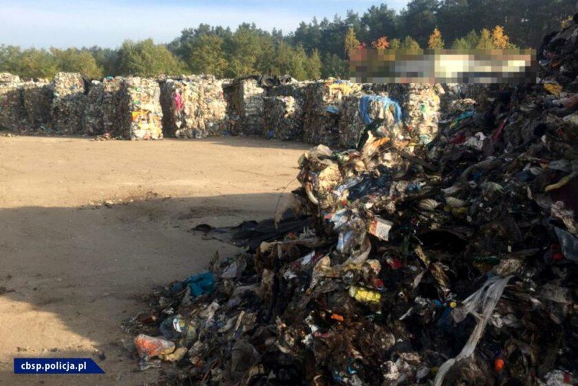 Śmieci z Niemiec trafiały do Polski