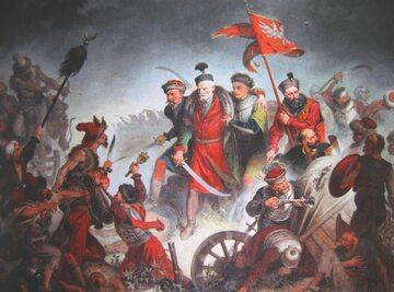 Śmierć Stanisława Żółkiewskiego (obraz Walerego Eljasza Radzikowskiego)