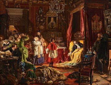 Śmierć Zygmunta Augusta na obrazie Jana Matejki