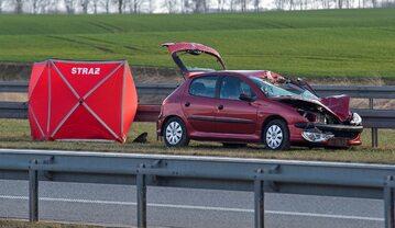 Śmiertelny wypadek samochodowy