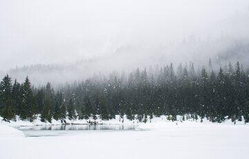 Śnieg, zima, zdjęcie ilustracyjne