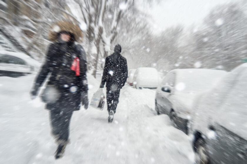 Śnieżyce, śnieg, zdj. ilustracyjne