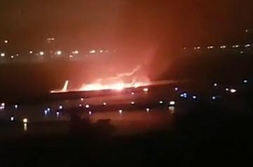 Soczi. Samolot zapalił się po wylądowaniu