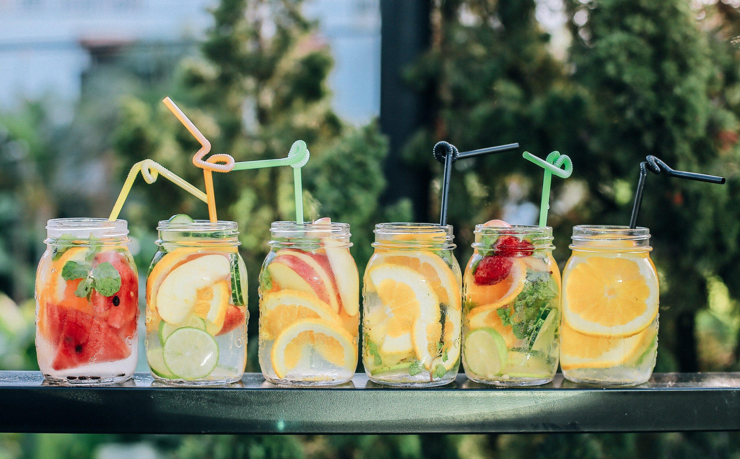 Soki i wody smakowe