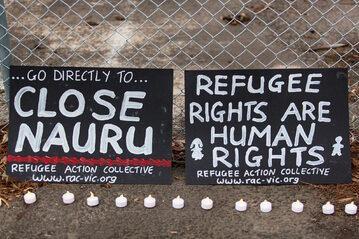 Solidarni z uchodźcami, Melbourne, Australia