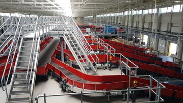 Sortownia DHL Parcel w Mosznej