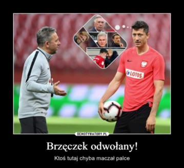 Sousa za Brzęczka. Internauci publikują memy