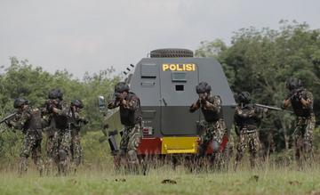 Specjalne siły policji w Indonezji