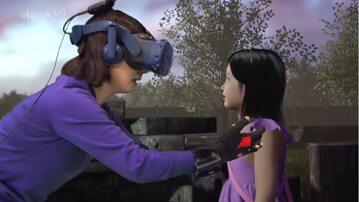 Spotkanie matki ze zmarłą córką w VR