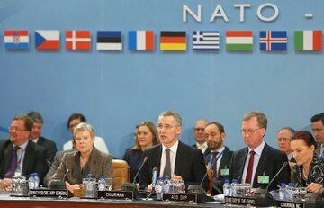 Spotkanie ministrów obrony państw NATO w Brukseli, 15 lutego