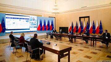 Spotkanie premiera z przedstawicielami Pfizera