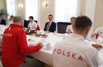 Spotkanie premiera ze skoczkami