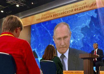 Spotkanie Władimira Putina z dziennikarzami