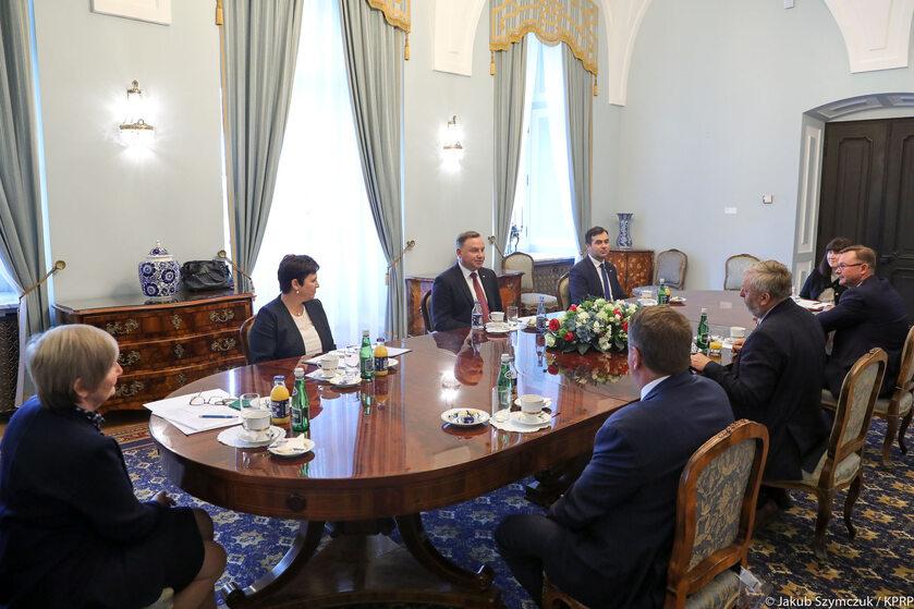 Spotkanie z członkami Krajowej Rady Izb Rolniczych