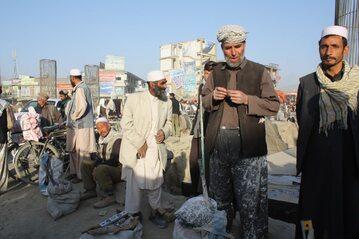 Sprzedawcy w Kabulu