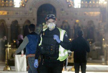 Środki bezpieczeństwa w Kijowie