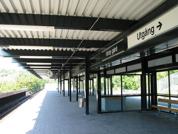 Stacja metra Varby Gard w Huddinge