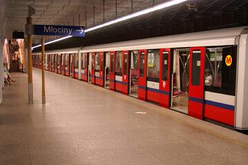 Stacja warszawskiego metra