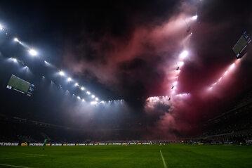 """Stadion Giuseppe Meazza """"San Siro"""", na którym mecze rozgrywają zarówno Inter, jak i AC Milan"""