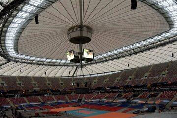 Stadion PGE Narodowy, gdzie Polacy rozegrają swój pierwszy mecz