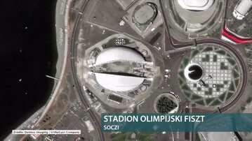 Stadiony piłkarskich mistrzostw świata widziane z kosmosu