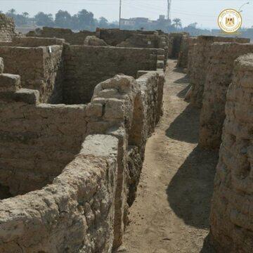 Starożytne miasto w Egipcie