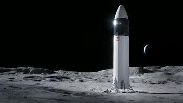 Starship na Księżycu