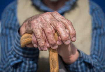 Staruszek, zdjęcie ilustracyjne