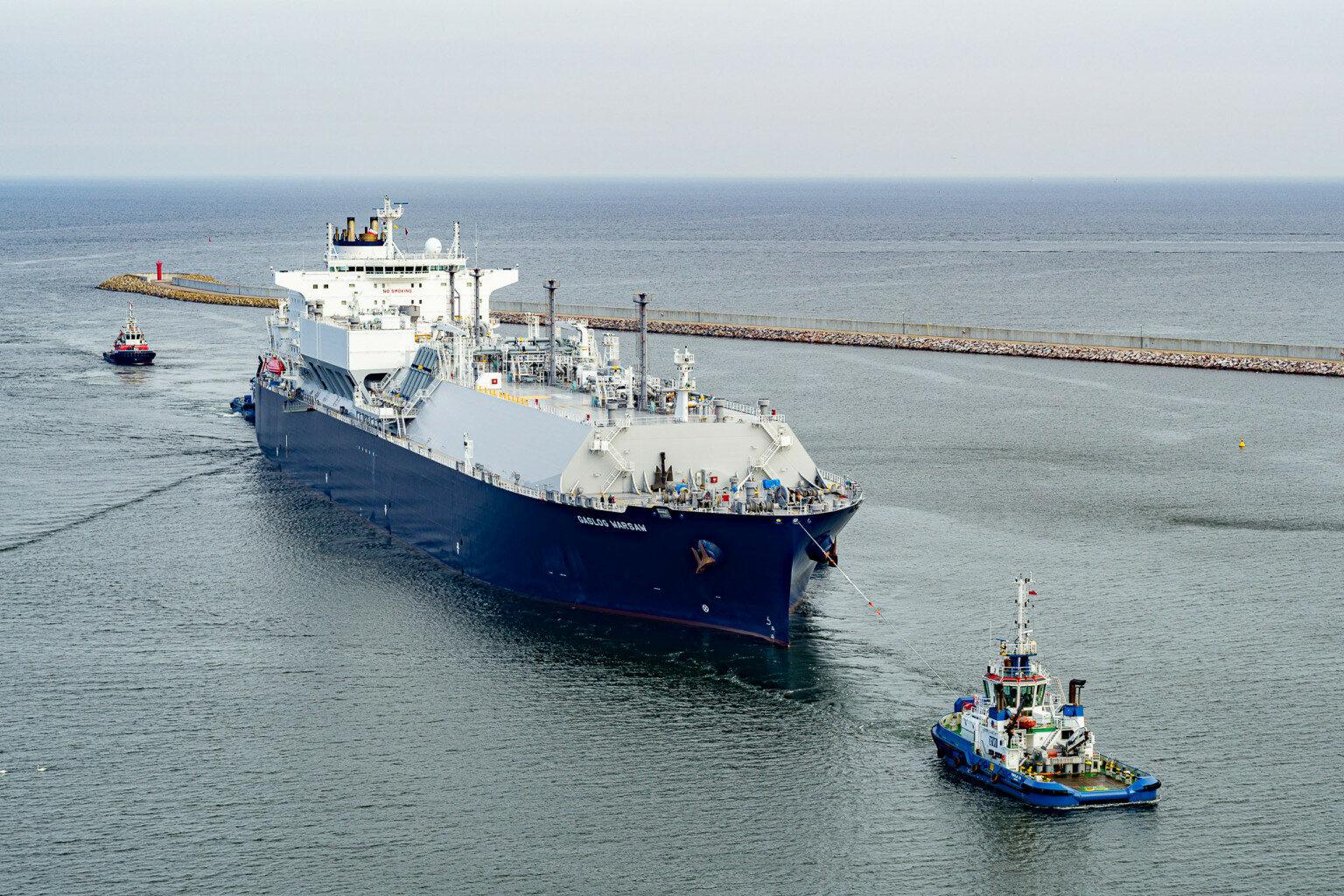 Statek do transportu LNG