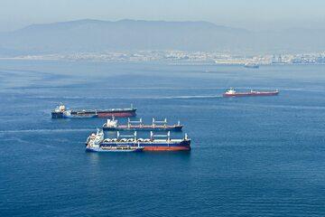 Statki w Cieśninie Gibraltarskiej