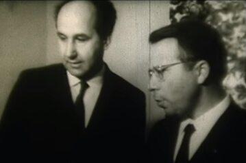 Stefan Kudelski i Jacek Karpiński