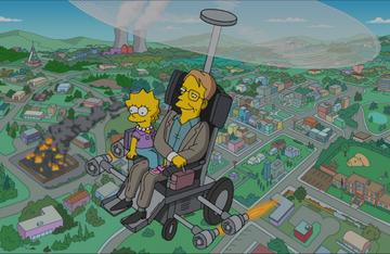 """Stephen Hawking w """"Simpsonach"""""""