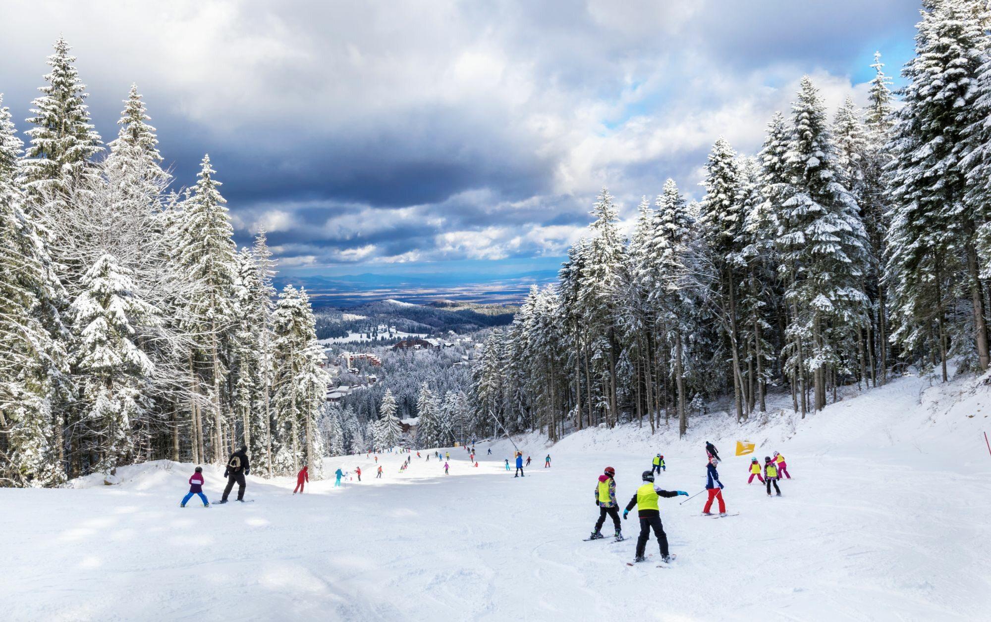 Stok narciarski, zdj. ilustracyjne