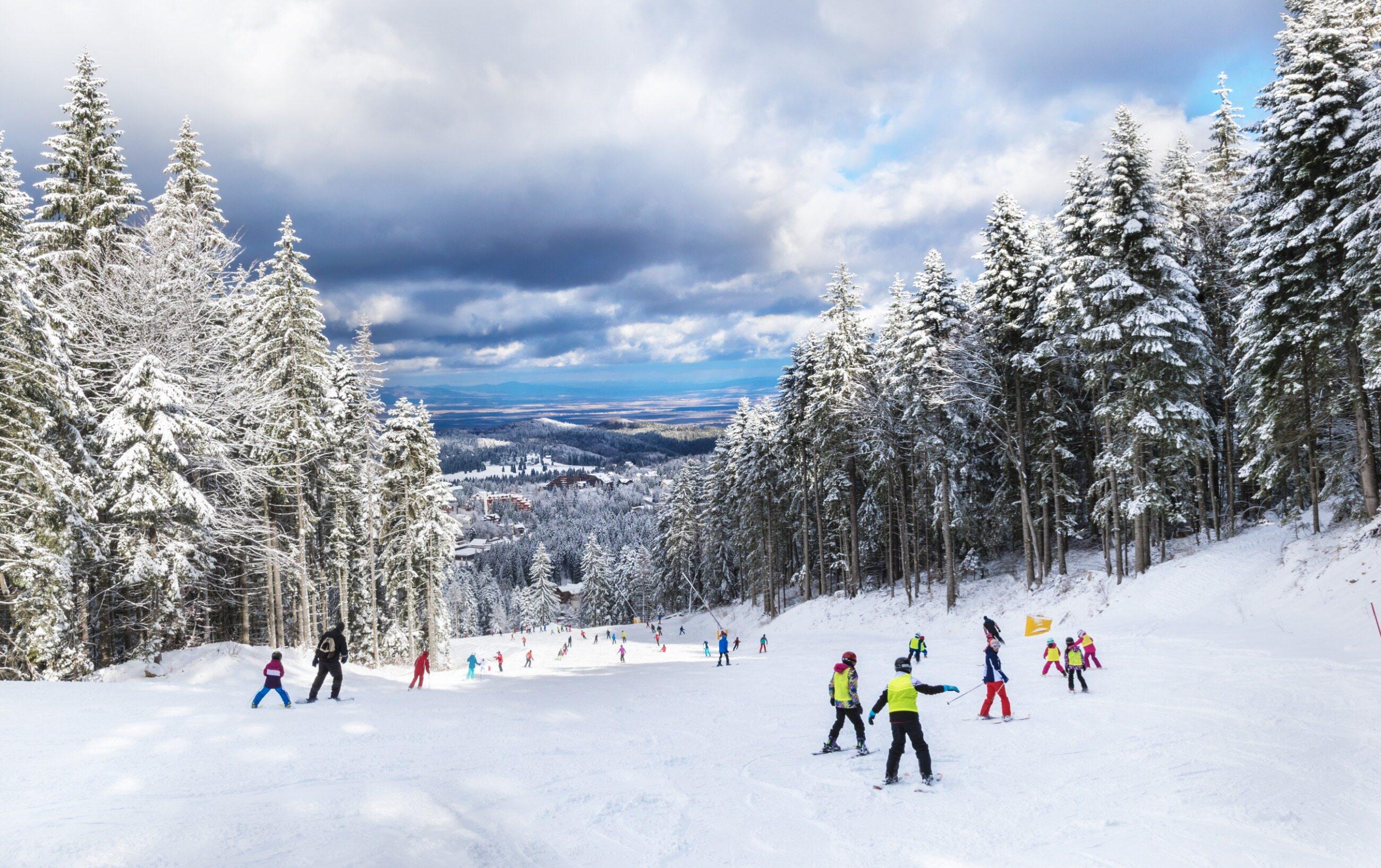 Stok narciarski, zdjęcie ilustracyjne