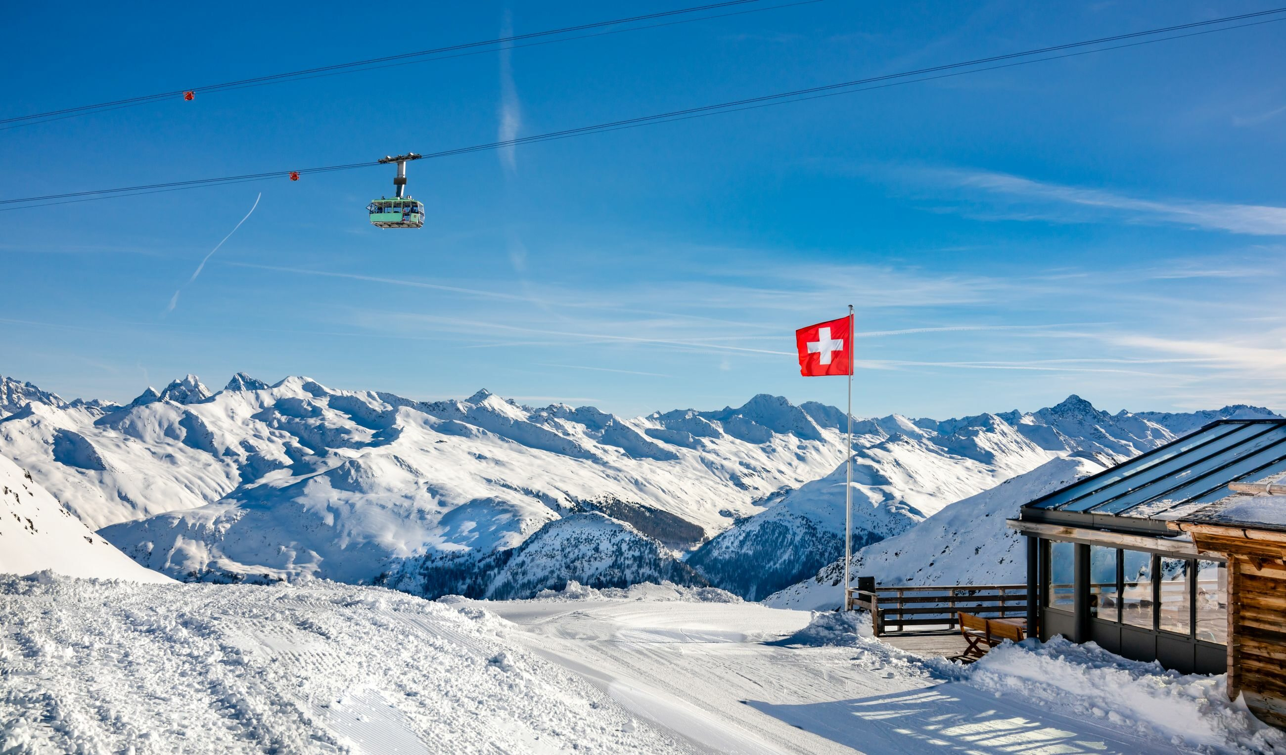 Stok w Szwajcarii, zdjęcie ilustracyjne
