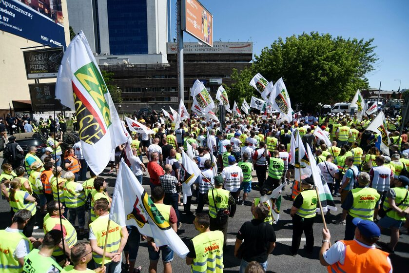 Strajk górników w 2019 roku, zdjęcie ilustracyjne
