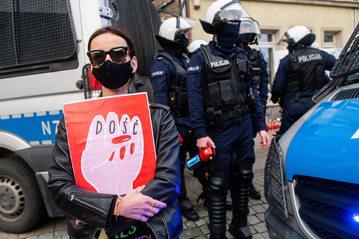 Strajk kobiet w Gdańsku, zdj. ilustracyjne