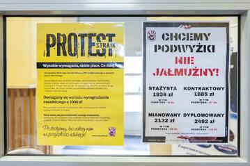 Strajk nauczycieli w jednej ze szkół