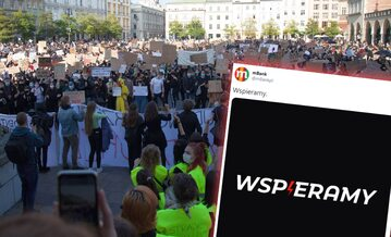 Strajk przeciwko wyrokowi TK w Krakowie