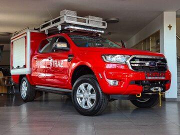 Strażackie Fordy Rangery