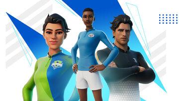Stroje piłkarskie dostępne w Fortnite