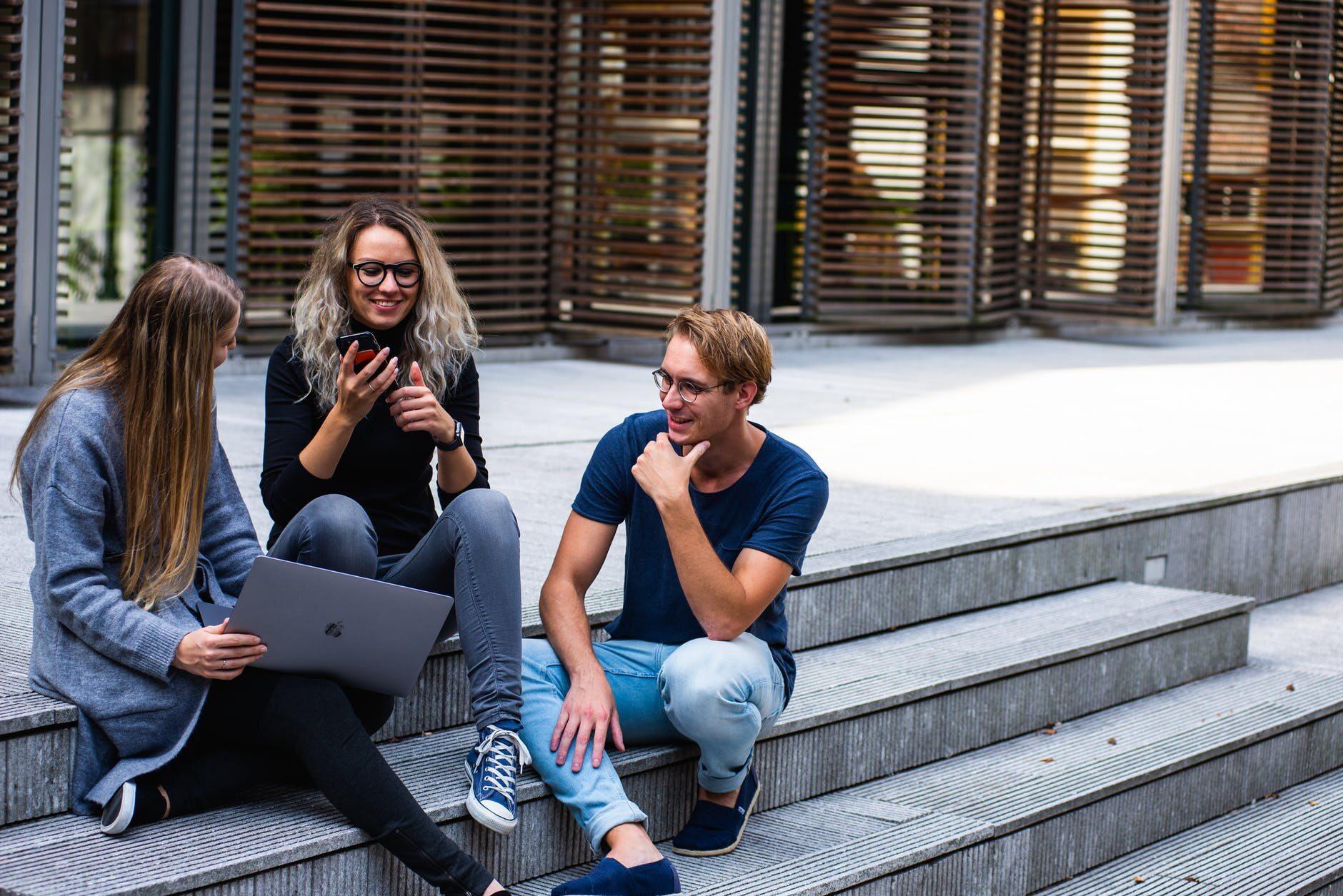 Studenci, zdjęcie ilustracyjne