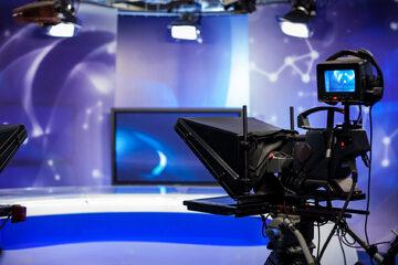 Studio telewizyjne, zdjęcie ilustracyjne
