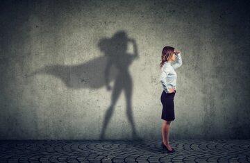 Superbohaterka, zdjęcie ilustracyjne