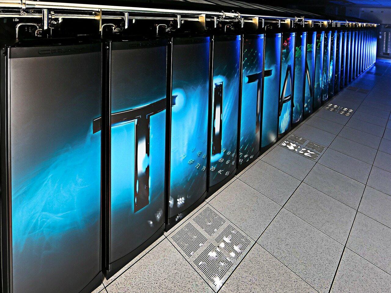 Superkomputer, zdjęcie ilustracyjne