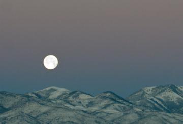 Superksiężyc na zdjęciu NASA