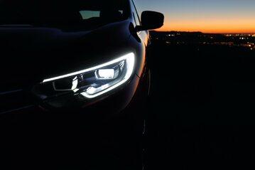 Światła samochodu