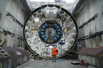 Świnoujście. Prace na budowie tunelu pod Świną