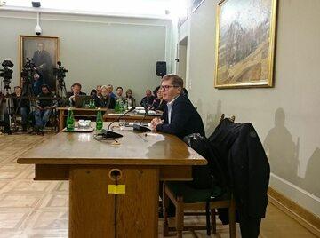 Sylwester Latkowski przed komisją ds. Amber Gold